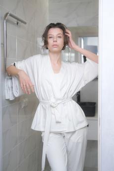 Новинка: белое кимоно home Vim Win